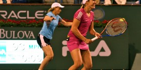 Henin and Martina