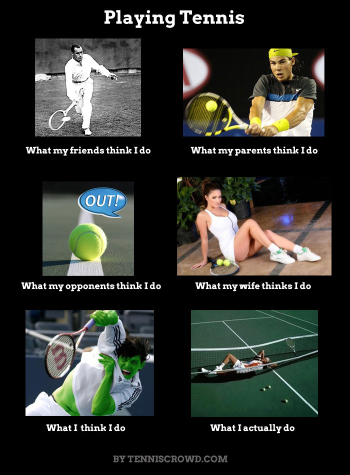 What People Think About Tennis Players