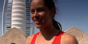 Ana Ivanovic at Wild Wadi Water Park