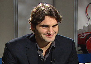 Roger Federer Interview Photo