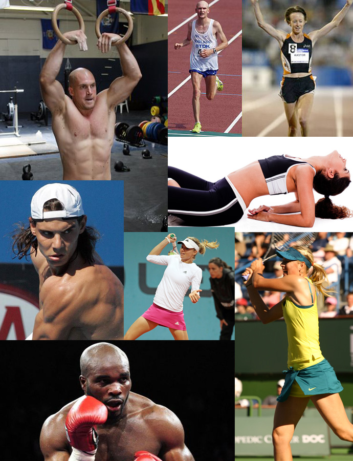 Different sport body types