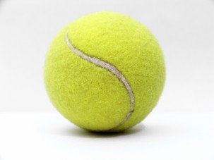 Fuzzy Tennis Ball