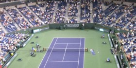 Night match: Federer/Verdasco